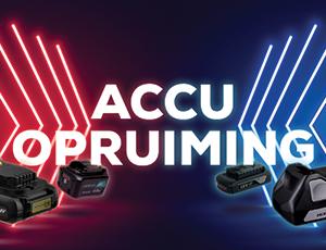 Accu opruiming