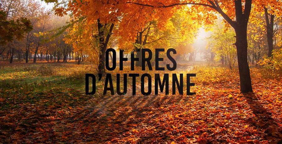 Préparez-vous pour l'automne